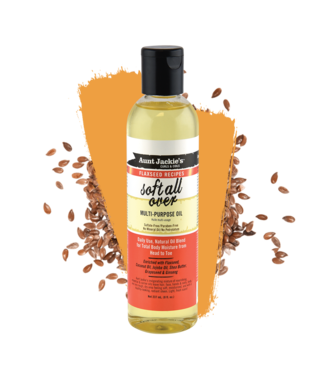 Aunt Jackie's Flaxseed Recipes - Soft All Over Multi-Purpose Oil (8oz)