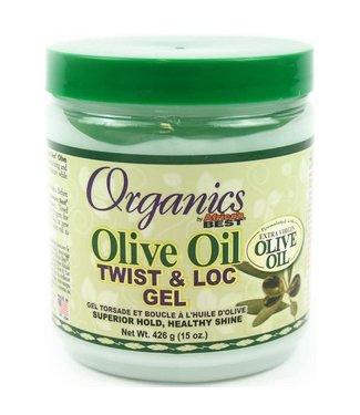 Africa's Best Organics Olive Oil Twist & Loc Gel (15oz)