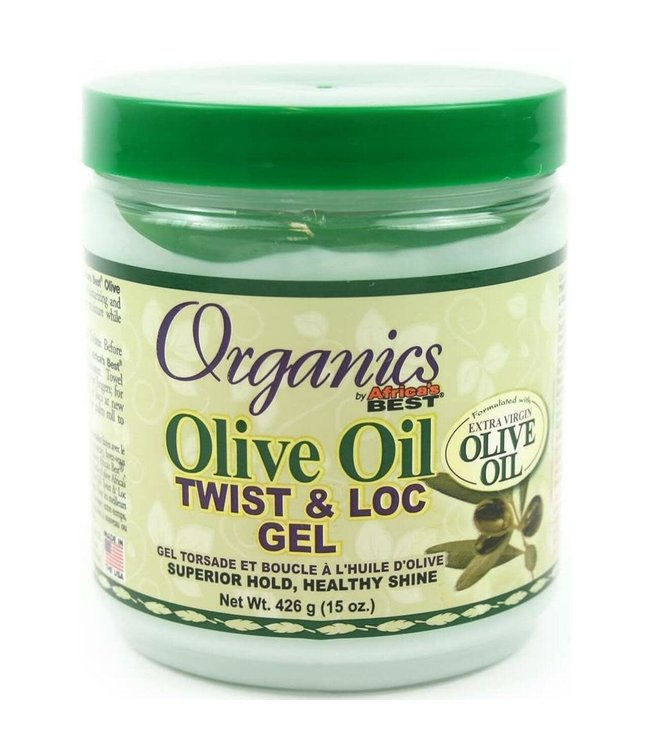 Africa's Best Organics Olive Oil Twist & Loc Gel (15oz)