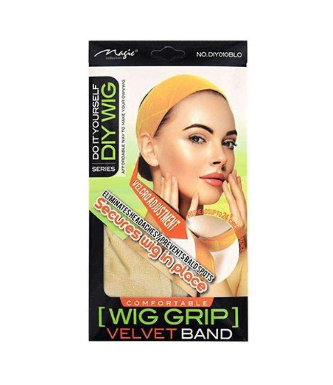 Magic Collection DIY010 Blonde Velvet Band