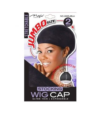 Miracle Magic Collection Jumbo Wig Cap 2225Jet Black