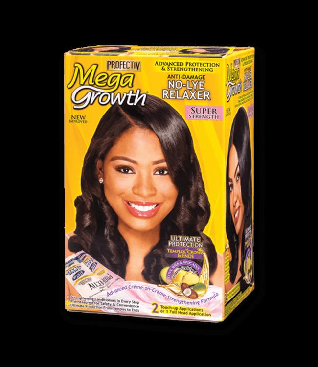 Profectiv Mega Growth No-Lye Relaxer Kit Super
