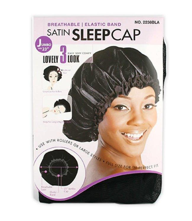 "Magic Collection Jumbo Satin Sleep Cap - 23"""