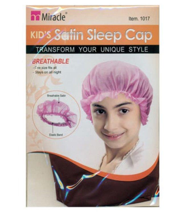 Miracle Kid's Satin Sleep Cap - Assorted (1017)