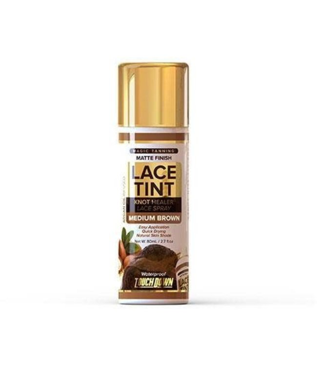 Touch Down  Lace Tint Spray Medium Brown 2.7oz