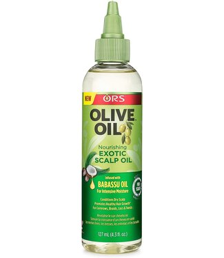 Organic Root Olive Oil Exotic Scalp Oil 4.3oz