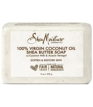 Shea Moisture 100% Virgin Coconut Oil & Shea Butter Soap 8oz
