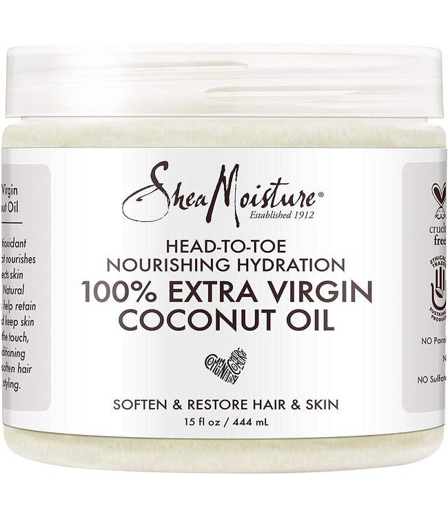 Shea Moisture 100% Extra Virgin Coconut Oil 15oz