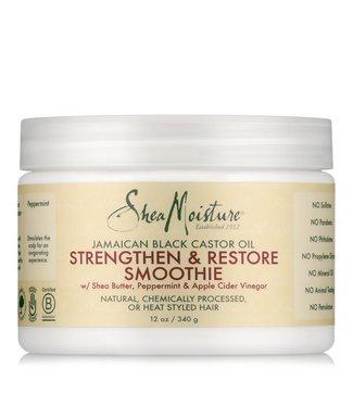 Shea Moisture Black Castor Oil Strengthen & Restore Smoothie 12oz