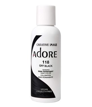 Adore Hair Color #118 - Off Black
