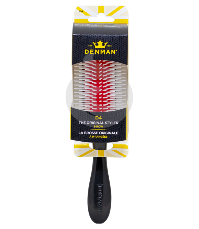 Denman Original D4 9 Row Styling Brush