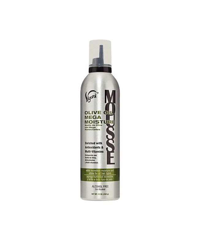 Vigorol Olive Oil Mega Moisture Mousse (9oz)
