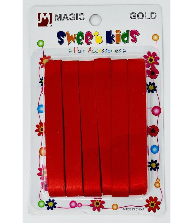 Magic Collection Sweet Kids Ribbon Red  #5059