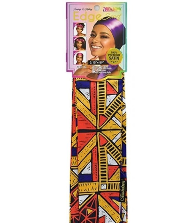 Touch Down Satin Edge Scarf (African Pride TES110)