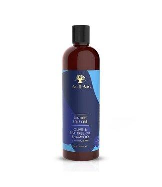 As I Am Olive & Tea Tree Dandruff Shampoo 12oz