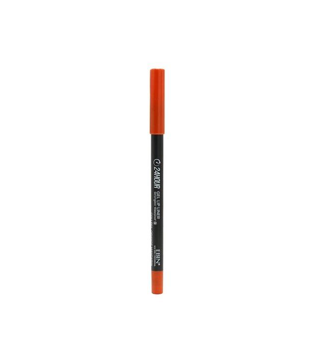 24 Hour Gel Lip Liner Pencil - Orange Mandarin
