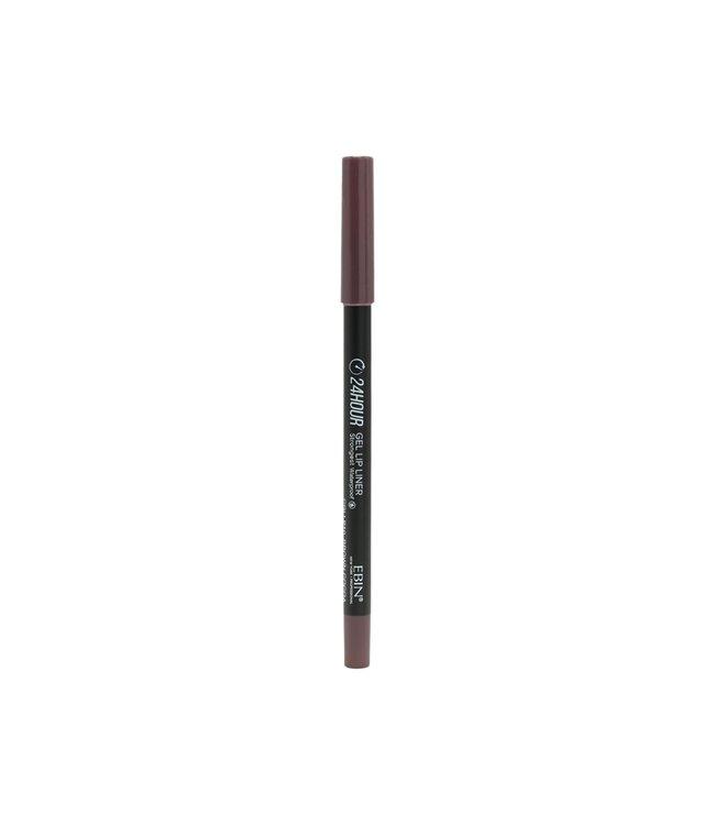 24 Hour Gel Lip Liner Pencil - Brown Cocoa