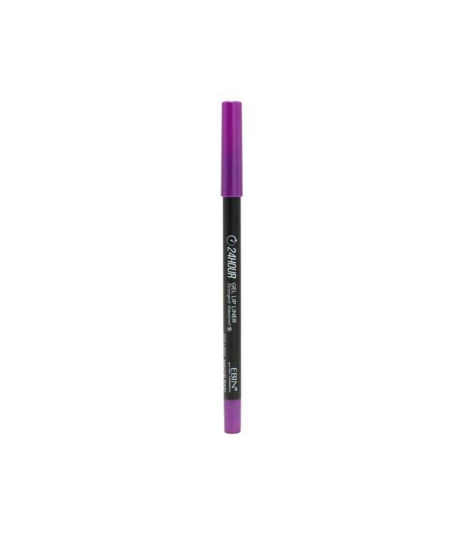 24 Hour Gel Lip Liner Pencil - Virgin Purple