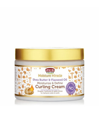 African Pride Shea Butter & Flaxseed Oil Curling Cream 12oz