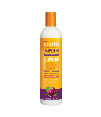 Cantu Grapeseed Strengthening Silicone Free Curl Activator 12oz