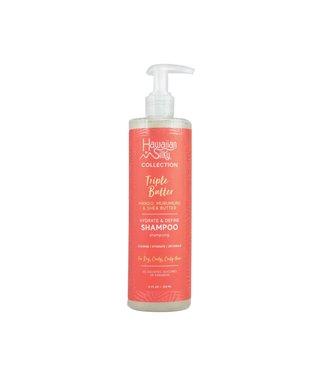 Hawaiian Silky Triple Butter Hydrate & Define Shampoo (12oz)