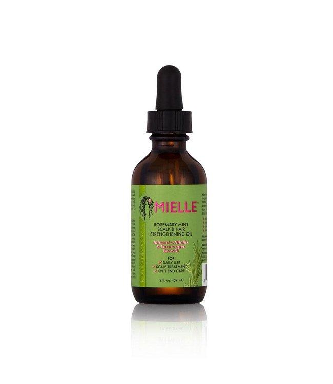 Mielle Organics Mielle Rosemary Mint Scalp & Hair Strengthen Oil - 2oz