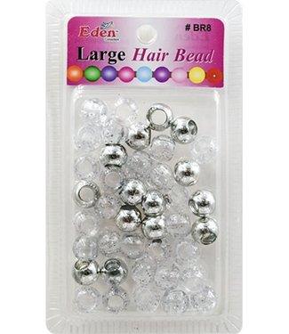 Eden Eden Jumbo Color Beads Silver+Sigl BR8-MSIL+SG