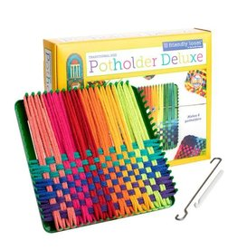Harrisville Designs Harrisville Designs: Potholder Deluxe Kit (Traditional Loom - makes 6)