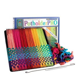 "Harrisville Designs Harrisville Designs: Potholder Pro Kit (10"" x 10"" Loom - makes 2)"