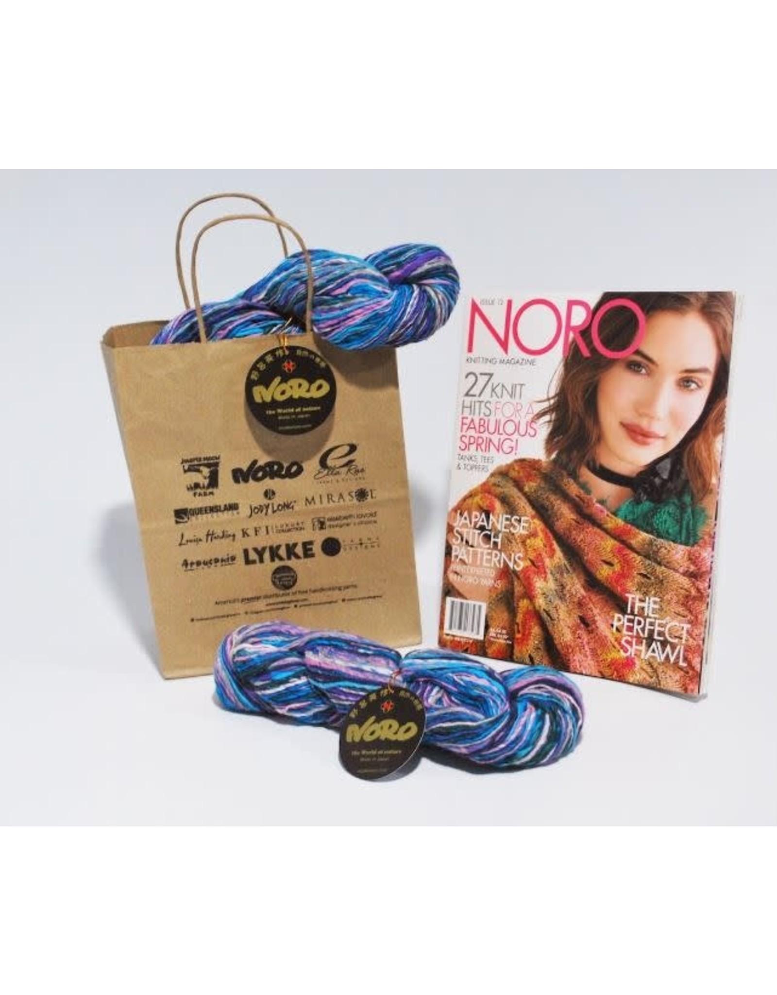 Noro Noro: Nishiki Semicircle Shawl Kit,