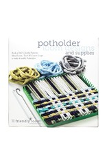 "Harrisville Designs Harrisville Designs: Potholder Loom & Book (7"" x 7"" - makes 2)"