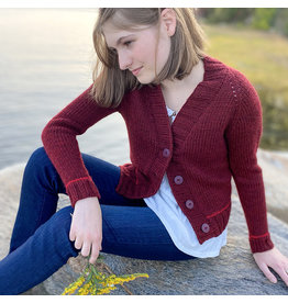 Berroco Berroco: Audrey's Cardigan Kit (Warms),