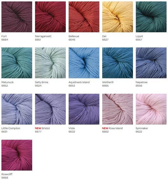 Modern Cotton DK Colors 16 - 31