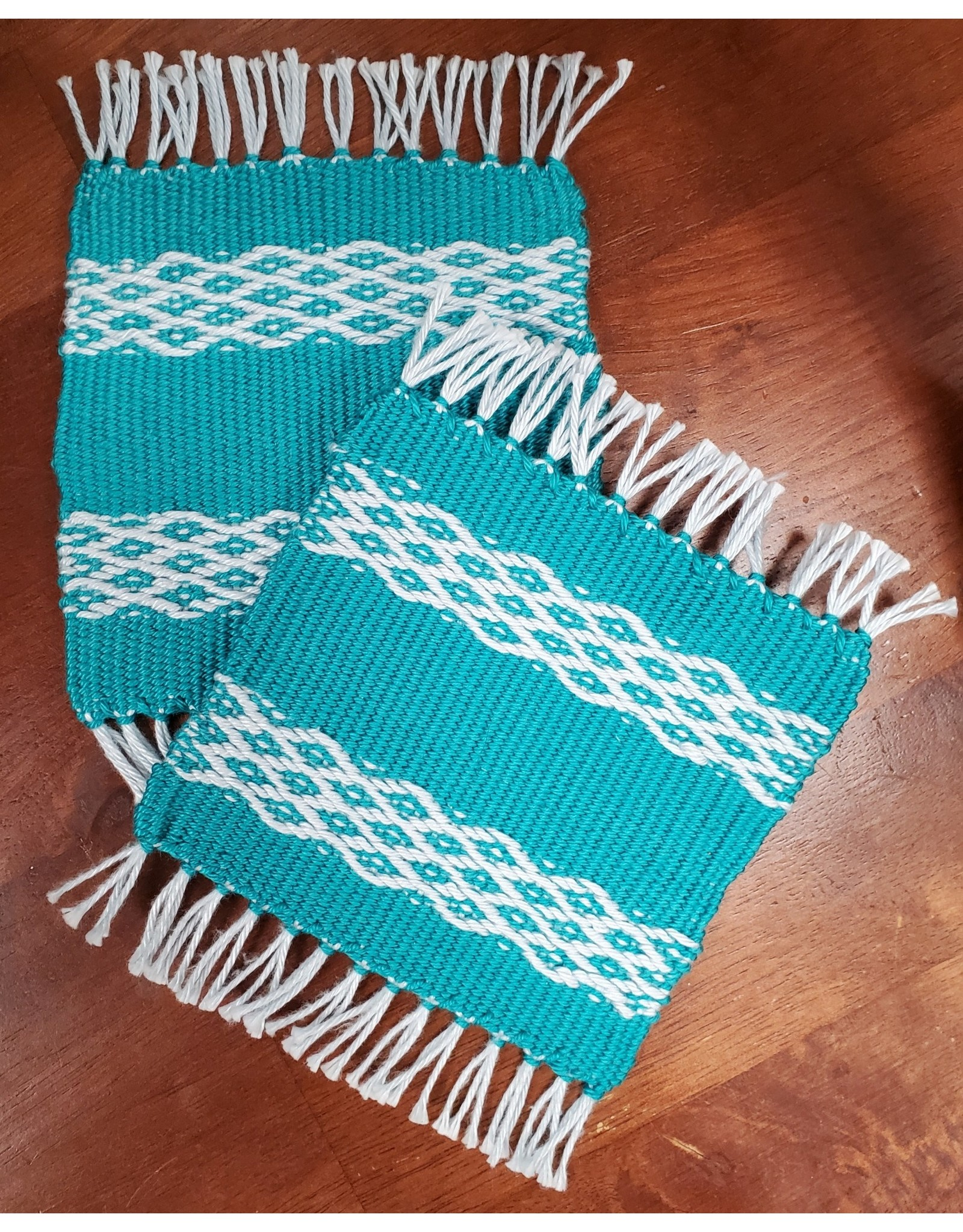 The New Knittery Weaving Coasters on a Rigid Heddle Loom, Sunday Oct. 3, 2021
