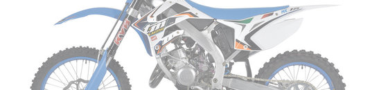 TM Racing Frame Parts 125/144/250/300 2016