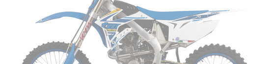 TM Racing Frame parts 250Fi Twin Exhaust