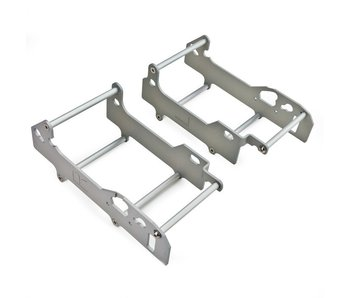 CROSSPRO Radiator Guards TM 250fi (12 Canals) 15 ->