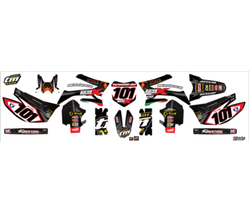 "Graphic kit ""Racer-X"""