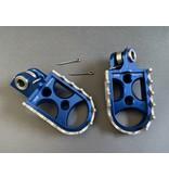 SAM CNC Footpegs TM 125-> / 2008->