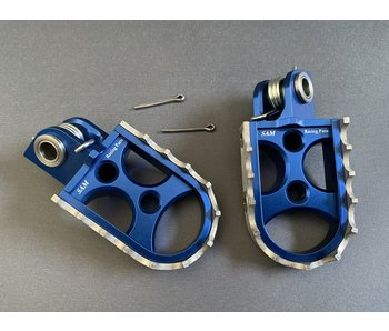 SAM CNC Footpegs TM 125-> / 2008->