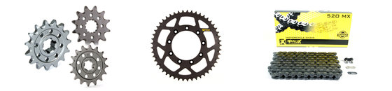 ProX sprocket and chain parts