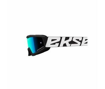EKS Brand XGROM (youth goggle)  Black/ Blue  lens