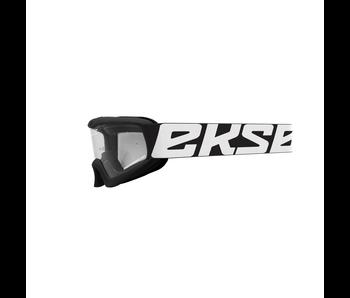 EKS Brand XGROM (youth goggle) Black/ Clear lens