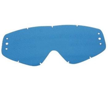 EKS Brand GO-X ZIP OFF ANTI-FOG RAIN LENS -  BLUE TINT