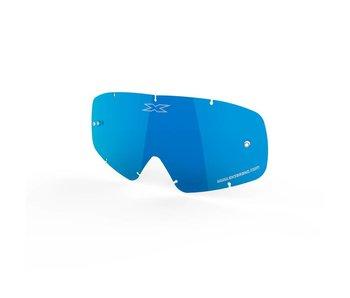 EKS Brand X-GROM ANTI-FOG LENS -  BLUE/MIRROR