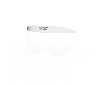 EKS Brand EKS-S XL Mud visor -  clear 3 pack