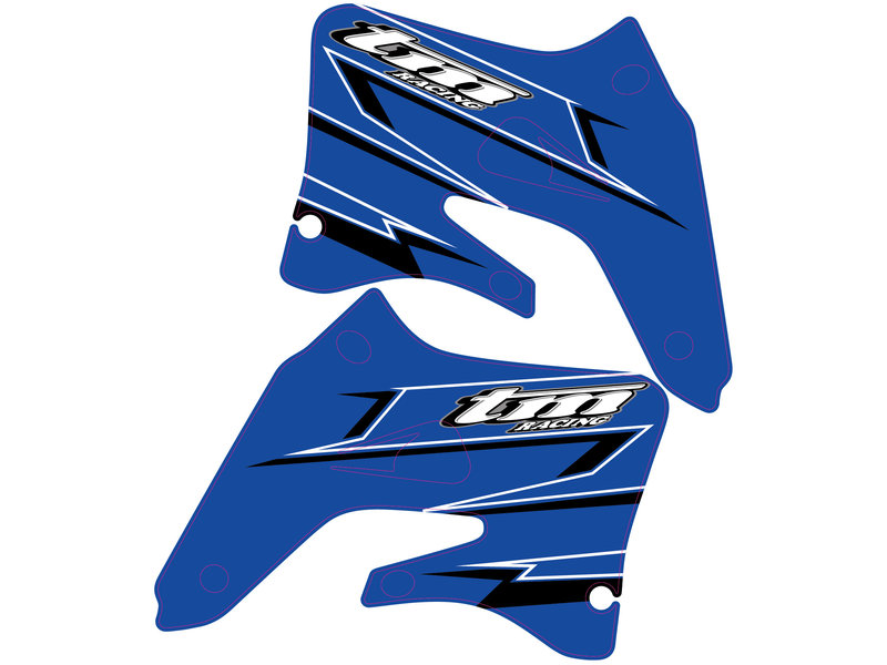 "OEM Replica Spoiler decals ""2007"" 4 Stroke"