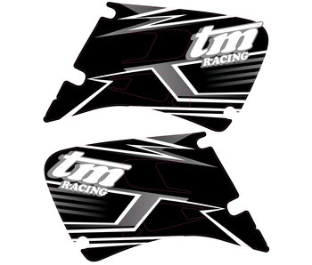 "OEM Replica Spoiler decals ""2003"" 2-stroke (Black Dream)"
