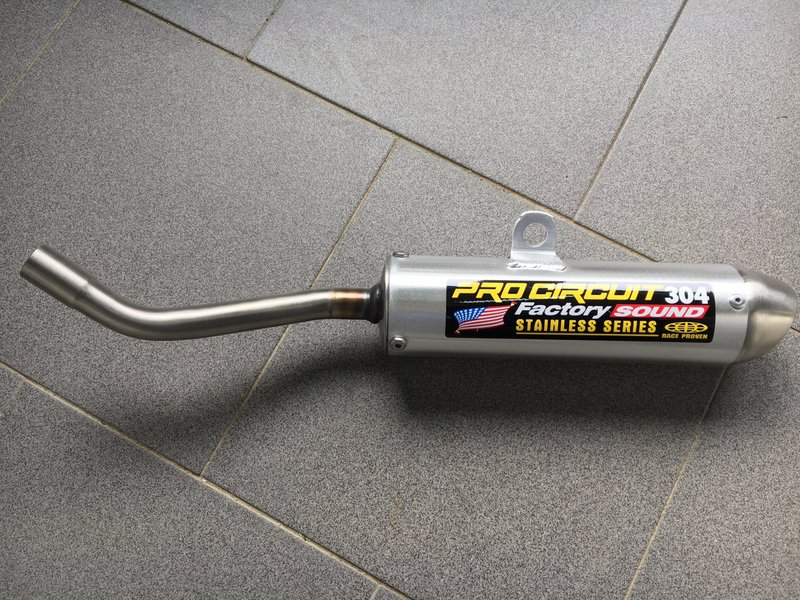 "Pro Circuit Silencer ""304"" MX  TM 85/100 13->"