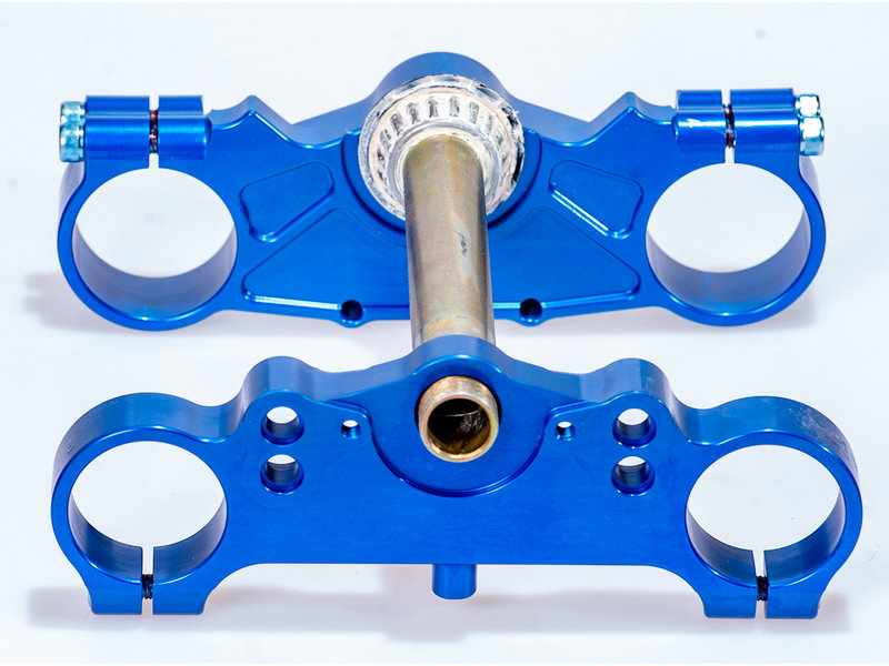 BZERK Triple clamp set TM 85 / 100   13->   (BLUE)